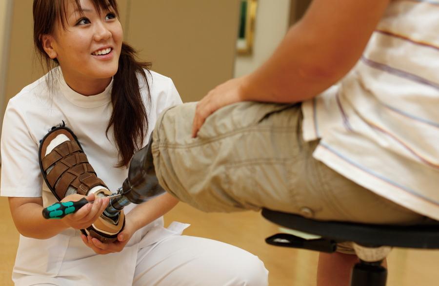 義肢装具士の仕事