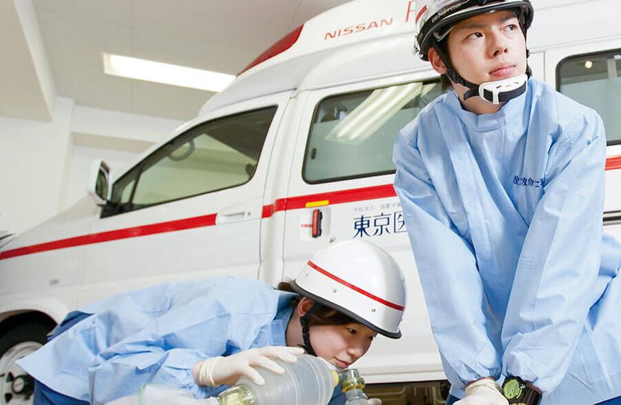 救命救急士の仕事